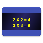 Multiplication Tables 1 to 10 icon