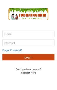 Subalagnam Matrimony apk screenshot