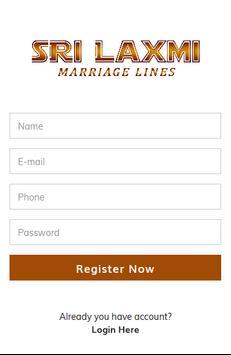 Sri Laxmi Marriage Lines poster