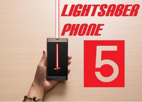 LightSaber Phone 5 poster