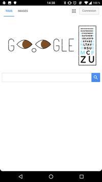 Minimal browser poster