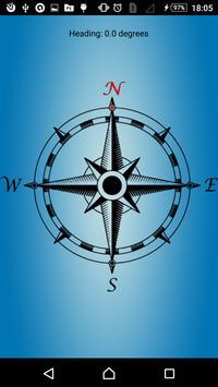 Simple Compass screenshot 1