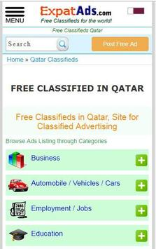 Free Classifieds Qatar, Doha Ads Classified App poster