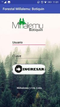 forestal millalemu: botiquin poster
