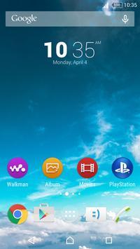 Theme - Aqua Splash apk screenshot