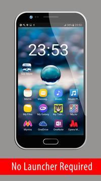Transparent HD Launcher apk screenshot