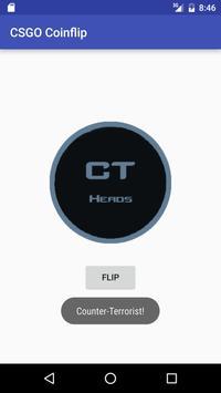 CSGO Coin Flip poster