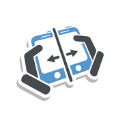 tips: Content Transfer icon