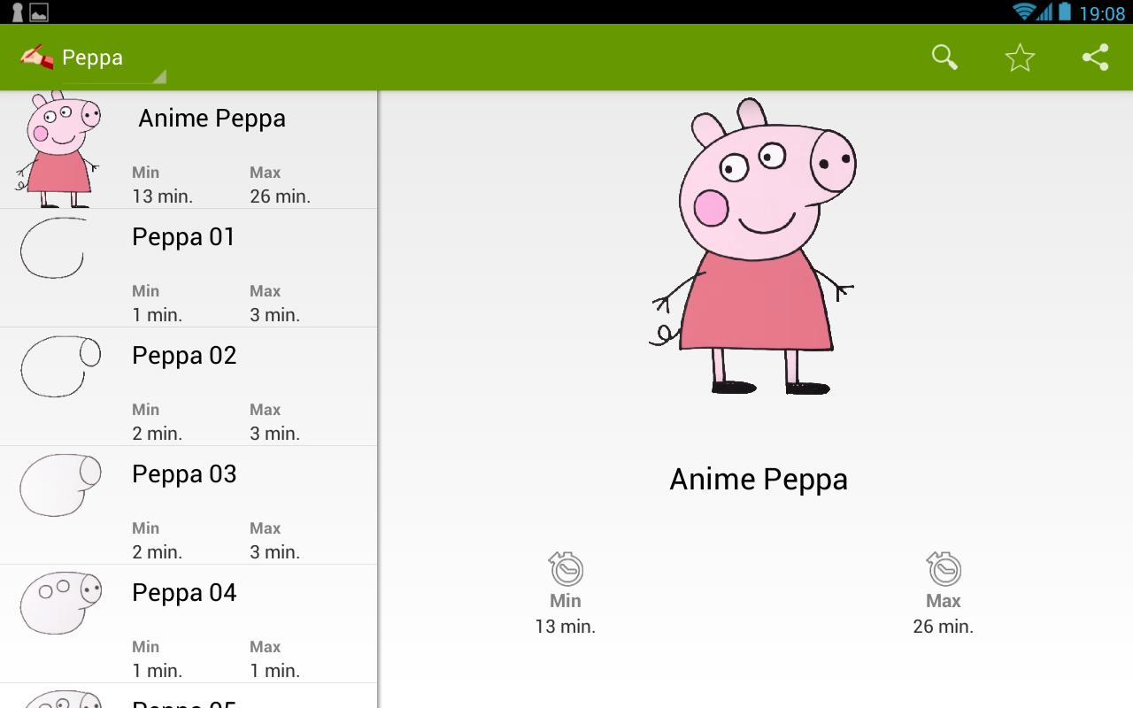Comment Dessiner Peppa Anime Para Android Apk Baixar