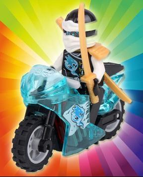 Ninjago Bigbike Games apk screenshot