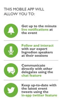 Ingredion™ Event Manager poster