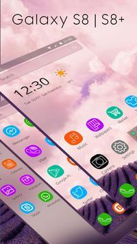 Theme for Galaxy S8 apk screenshot