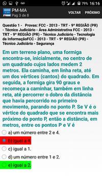 PM-MA  SOLDADO QUADRO PRAÇA POLICIAL 2017 Grátis screenshot 3