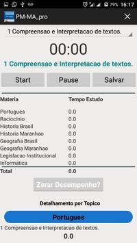PM-MA  SOLDADO QUADRO PRAÇA POLICIAL 2017 Grátis screenshot 6