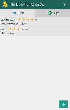 ProFinder Tìm Gia sư, trợ giúp screenshot 1