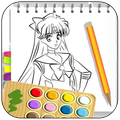 Learn to draw sailor moon