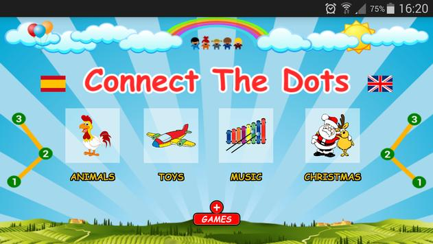 Connect Dots. Game For Kids poster