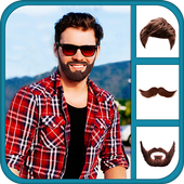 Beard Photo Editor:  Hairstyles Mustache Changer icon