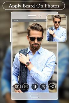 Beard Photo Editor:  Hairstyles Mustache Changer poster