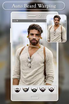 Beard Photo Editor:  Hairstyles Mustache Changer screenshot 2