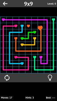 Match The Hearts Puzzle Free - Connect the dots screenshot 13