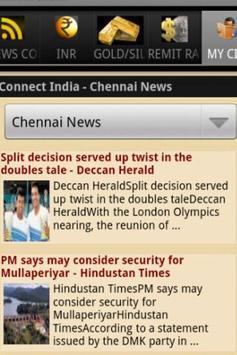 Connect India (INR,Gold& News) screenshot 4