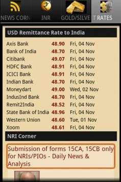 Connect India (INR,Gold& News) apk screenshot