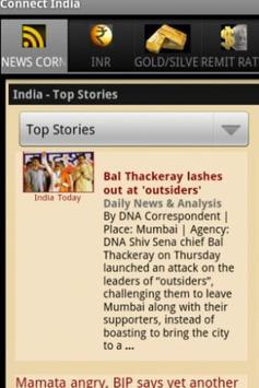 Connect India (INR,Gold& News) screenshot 2