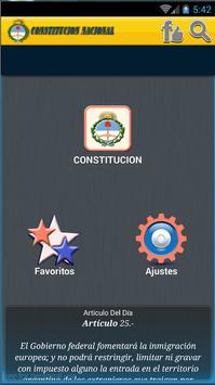 constitucion nacional apk screenshot