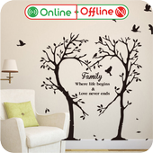 Wall Sticker icon