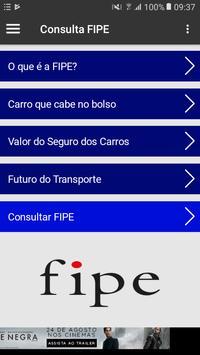 Consulta Tabela FIPE poster