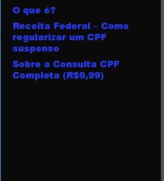 4d8a60511 ... Consultar cpf limpar nome sujo consulta nome sujo imagem de tela 1 ...
