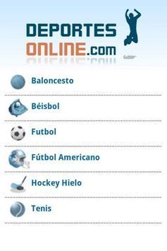 Deportes Online poster