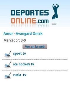 Deportes Online apk screenshot