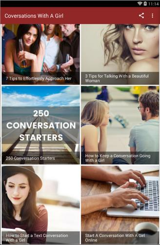 How to start a conversation with a girl for android apk download ccuart Choice Image