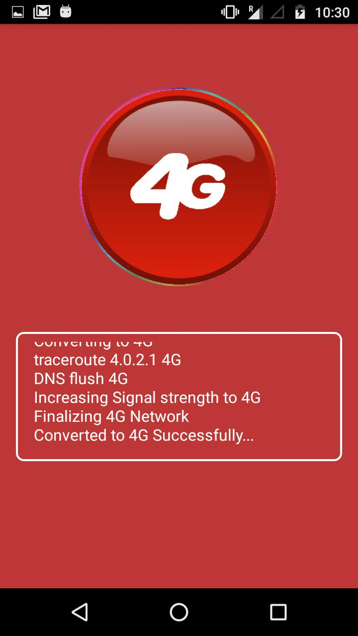 3G to 4G Convert Mobile App Prank for Android - APK Download