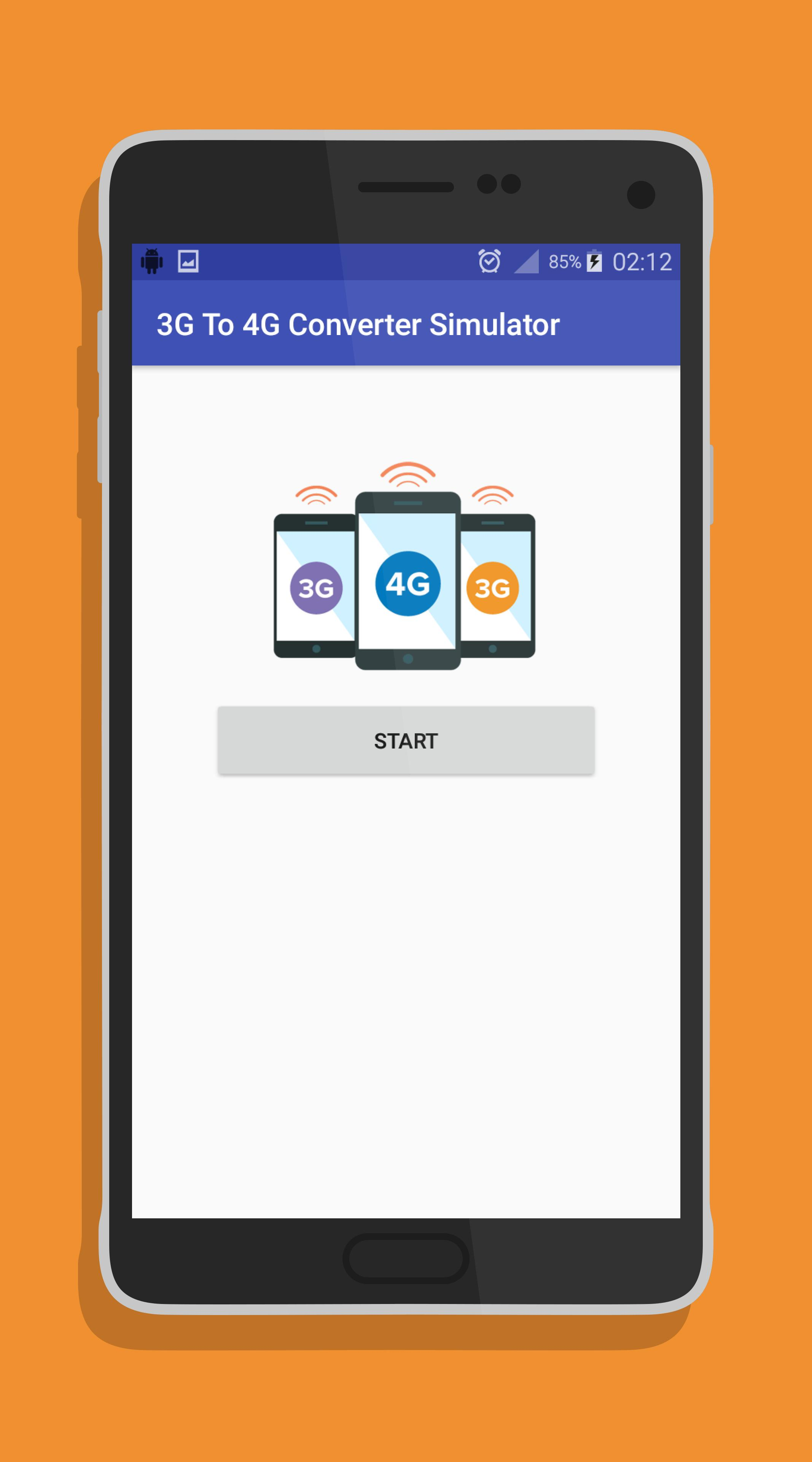3G To 4G Converter Simulator for Android - APK Download