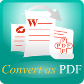 Convert as PDF(CAP) icon