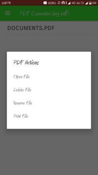 PDF Converter(img-pdf) apk screenshot