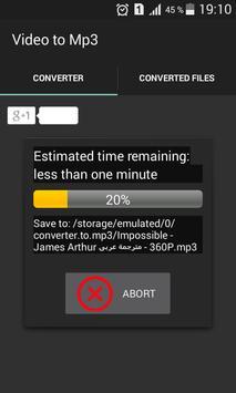 Free MP3 Music Download  Video Converter Mp3 screenshot 2