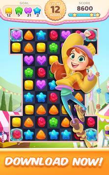 Cookie Crush Match 3 apk 截圖