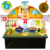 3D Cooking Man Theme icon