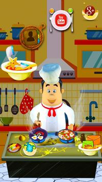 3D Cooking Man Theme poster