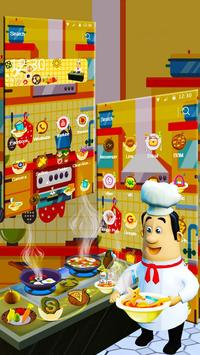 3D Cooking Man Theme screenshot 1