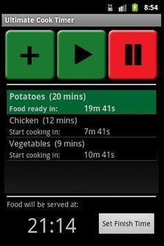 Ultimate Cook Timer screenshot 1