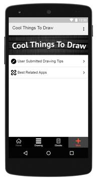 Cool Things To Draw apk screenshot