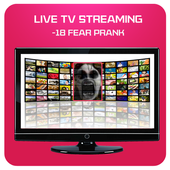 Tv Live Streaming scray prank icon