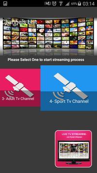 Tv Live Streaming scray prank poster