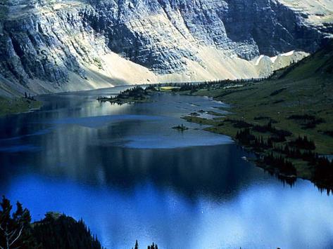 Blue Glaciers Wallpapers FREE apk screenshot