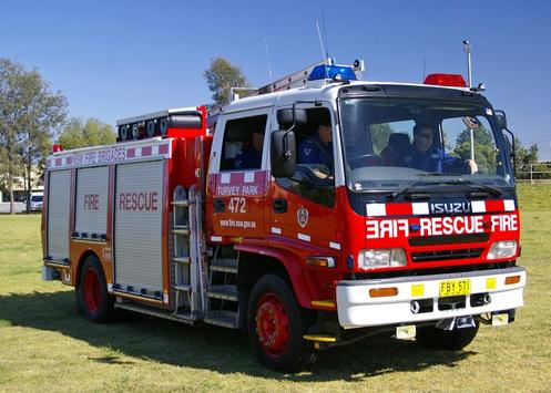 Fire Engines Wallpapers FREE poster